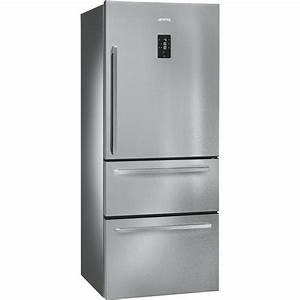 Refrigerateur Noir 1 Porte : r frig rateur ft41bxe 1 porte cong lateur 2 tiroirs smeg ~ Melissatoandfro.com Idées de Décoration