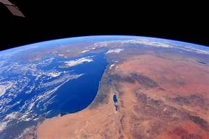 View of Israel From Space
