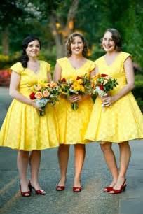 yellow bridesmaid dresses yellow wedding lemon yellow wedding decor 797094 weddbook