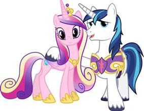 MLP Princess Cadence and Shining Armor