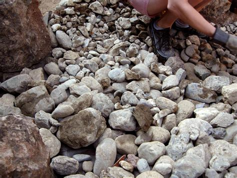 installing river rock how to install a dry creek bed how tos diy