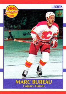 marc bureau marc bureau hockey cards value and stats