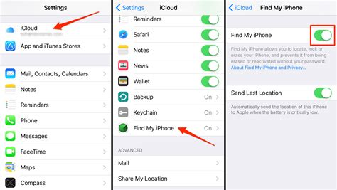 how to enable find my iphone change these ios 9 settings for better privacy security