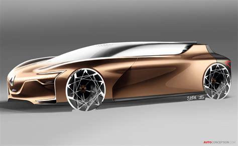 renault symbioz concept merges car design