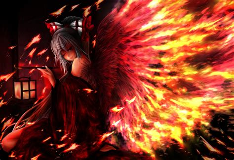 Anime Vire Boy Wallpaper - touhou vector wings