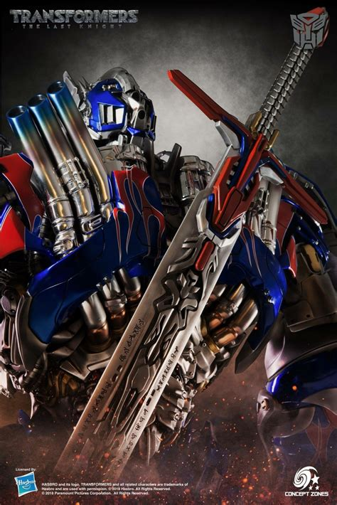 concept zones   knight optimus prime statue official images transformers news tfw