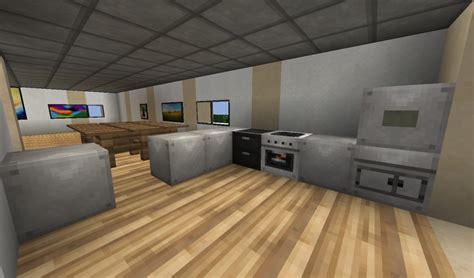 kitchen design interior fancy modern house minecraft project 1235