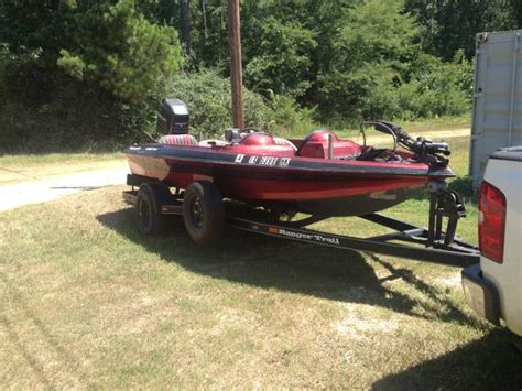 Used Bass Boats Conroe Tx 1995 ranger bass boat for sale