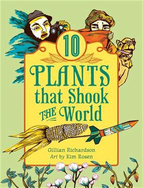 Sharon The Librarian Book Review 10 Plants That Shook