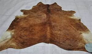 Large real 40 60sqft natural cow hide skin rugs brazilian for Cow skin rug