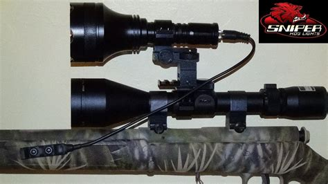 scope mounted lights for sniper ulitmate predator package sniper hog