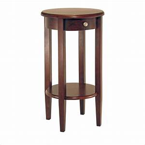 Concord, Round, Tall, End, Table