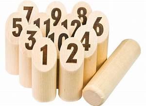 Jeu De Quilles Molkky : m lkky deluxe jeu de quilles en bois jardideco ~ Melissatoandfro.com Idées de Décoration
