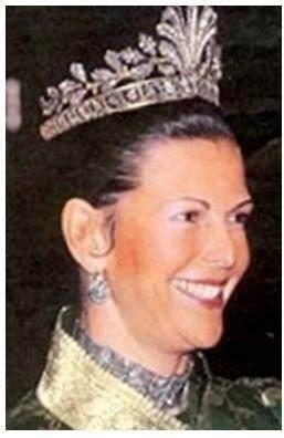 koenigliche juwelen cut steel tiara