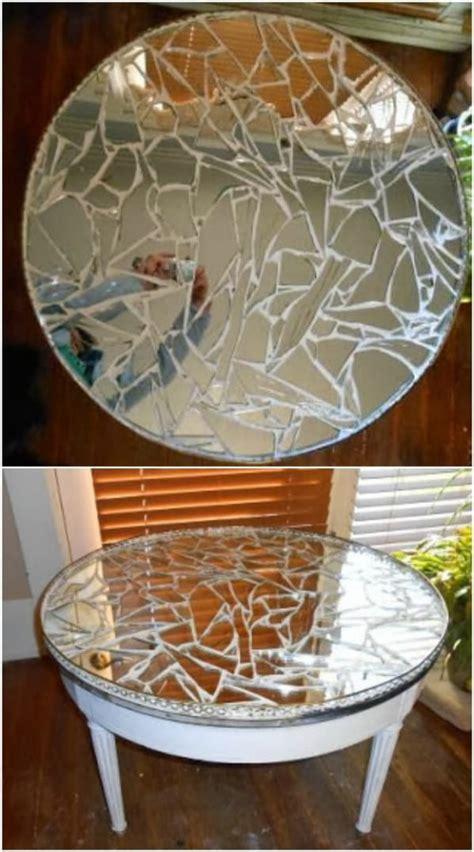 brilliantly crafty diy ideas  upcycle broken mirrors