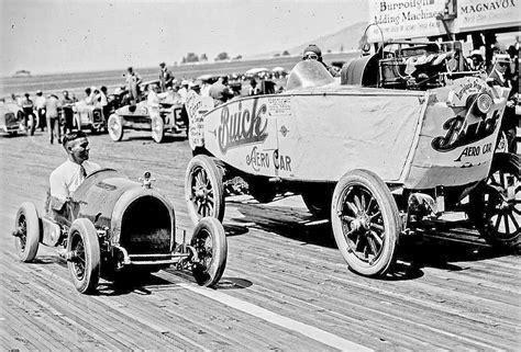 Buick Aero Car And A Baby Car At The Cotati Speedway