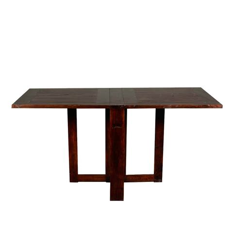 incredible solid wood  square pedestal folding dining