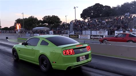 Turbocharged Drag Cars by 8 Sec Turbocharged Coyote Mustang Cars