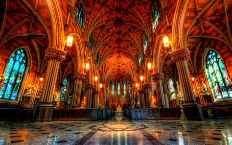 cathedral   immaculate conception hd wallpaper