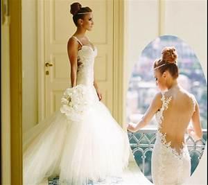 Brautkleid Meerjungfrau Rückenfrei : 33 sexy brautkleider ideen f r k nftige br ute mit schwung ~ Frokenaadalensverden.com Haus und Dekorationen