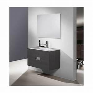 Meuble Vasque Pas Cher : meuble salle de bain basic meuble vasque pas cher ~ Teatrodelosmanantiales.com Idées de Décoration