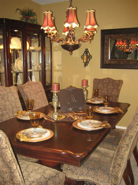 dining room painted sherwin williams mannered gold for