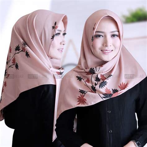 hijab segitiga instan ranting terbaru modis trend