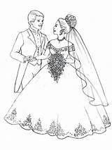 Coloring Bouquet Flower Flowers Prepare Throw Couple Bride Brides Groom Printable Veil Getcolorings Flo Getdrawings Button Using Colorings sketch template