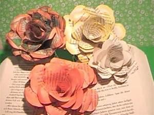Rosen Aus Papier : tolle rosen aus papier schnell und einfach great roses of paper very easy ~ Frokenaadalensverden.com Haus und Dekorationen