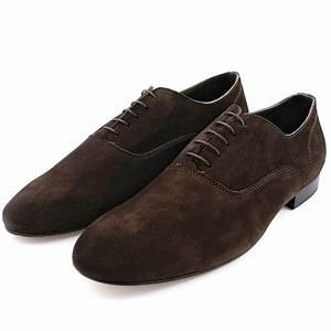 Chaussure De Ville Homme Marron : chaussure daim homme gainsbar en nubuck de cuir marron exclusif ~ Nature-et-papiers.com Idées de Décoration