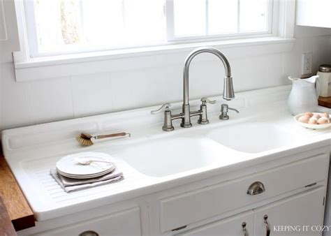 double drain board sink kitchen ideas pinterest
