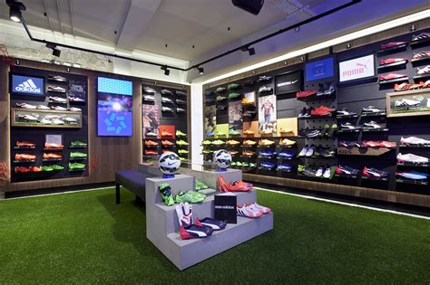 lifestyle sports  flagship store store design