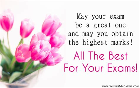 best wishes for luck messages for exams best wishes for
