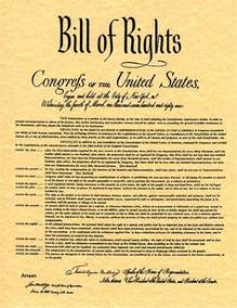 English Bill of Rights Document