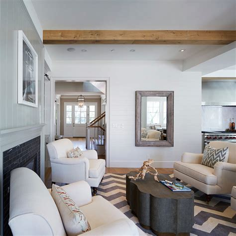 Schip Family Office by Los Angeles Home With East Coast Inspired Interiors Home