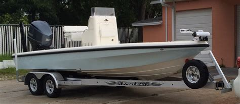 Boat Hull Steps by Ladder On Front Of Trailer The Hull Boating And