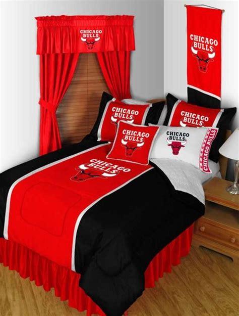 chicago bulls bed set chicago bulls nba sidelines comforter childs bedroom