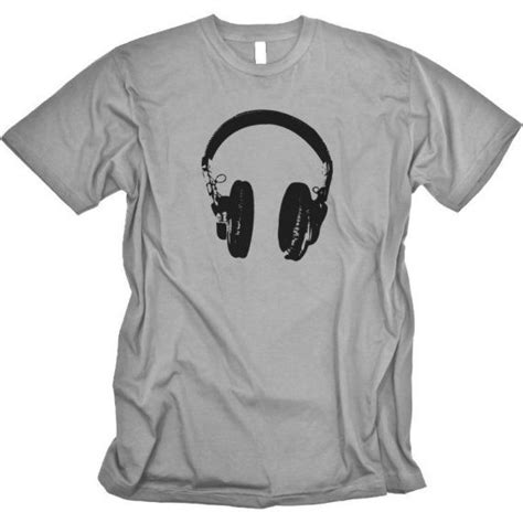 dj headphones tshirt graphic mens by critterjitters 16 00 clothes i wish i had