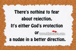Rejection Is God's Protection Quotes