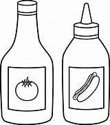 Clipart Clip Sauce sketch template