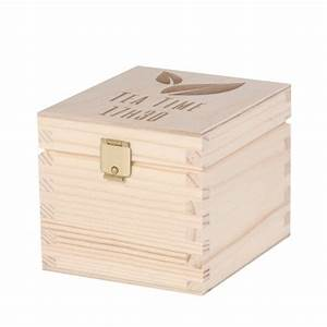 Boite A Compartiment : bo te th 1 compartiment une id e de cadeau original amikado ~ Teatrodelosmanantiales.com Idées de Décoration
