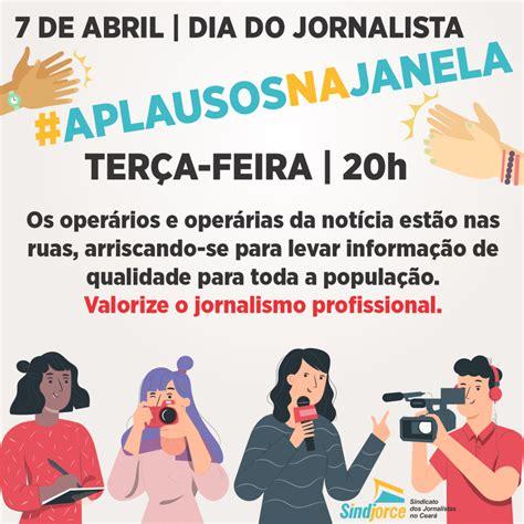 Dia do Jornalista: Sindjorce conclama população a aplaudir ...
