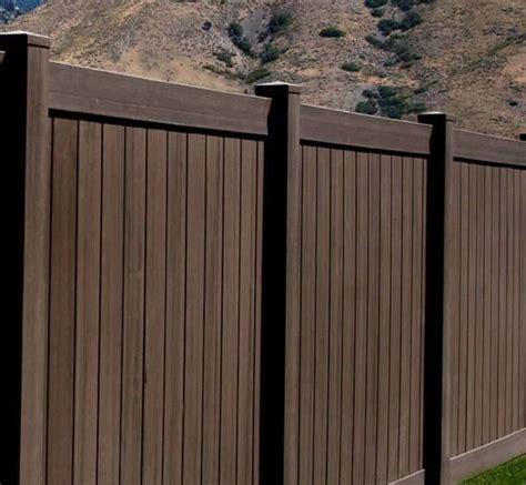 colored vinyl fencing    means   wood grain vinyl fence vinyl fence colors