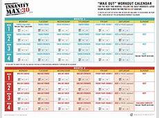 Insanity max 30 calendar printable Printable 2018
