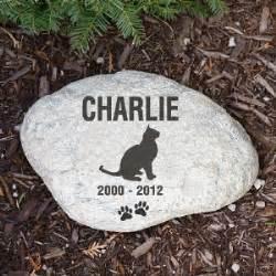 cat memorial stones personalized cat memorial garden