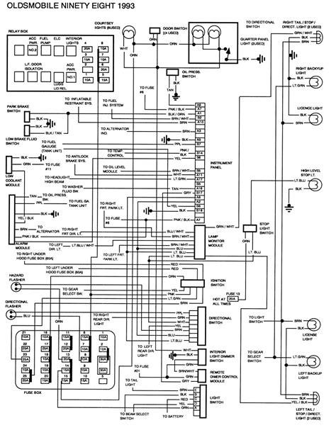 1968 Oldsmobile Cutlas Wiring Diagram by Repair Guides