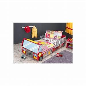 Parure Lit Enfant : parure de lit pour enfant pompier ~ Teatrodelosmanantiales.com Idées de Décoration