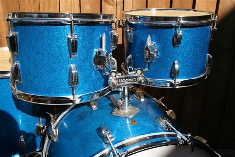 ludwig hollywood  original blue sparkle drum  sale