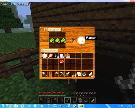 How To Make A Paper Boat In Minecraft by How To Make A Book Shelf In Minecraft Beta 1 8 1