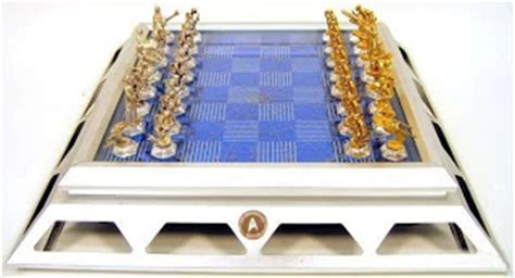 trek commemorative chess and checkers set carolus chess